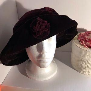 Beautiful Elegant Royal Wine Hat